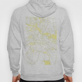 Amsterdam White on Yellow Map Hoody