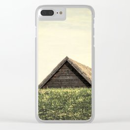 Magical Tiny House Iceland Clear iPhone Case