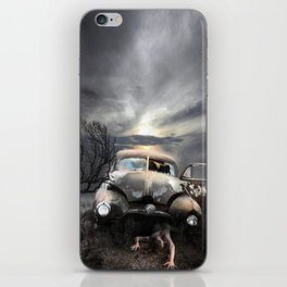 subliminal fear,  vers.2 iPhone Skin