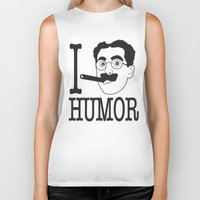 humor Biker Tanks featuring I __ Humor by senioritis