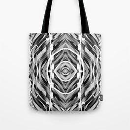 Light Dance Dark Ripples Tote Bag