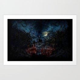 Castlevania: Vampire Variations- Gates Art Print