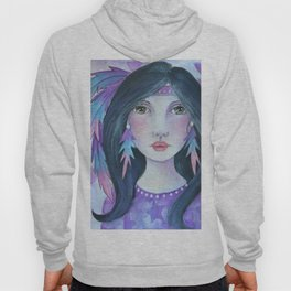 Indian Girl Hoody