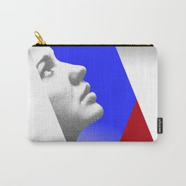 Looking at the sky. Abstract. Carry-All Pouch