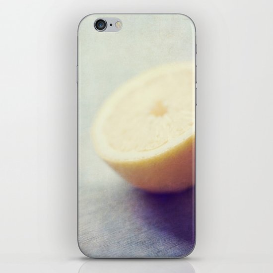Lonely Lemon iPhone Skin