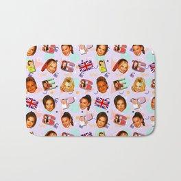 Spice Girls pattern art Bath Mat