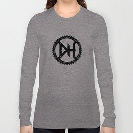 Downhill chainring Long Sleeve T-shirt