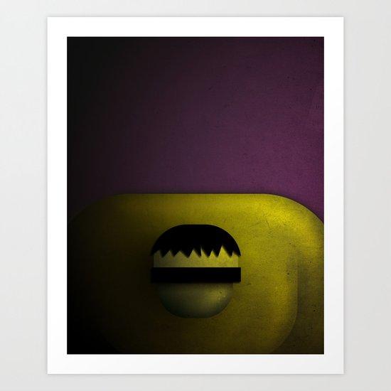 Smooth Heroes - Hulk Art Print