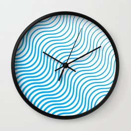 Whiskers Blue #324 Wall Clock