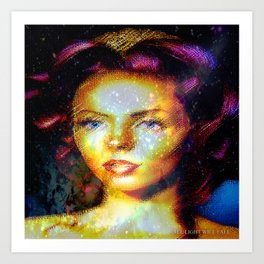 Beauty Enchantment  Art Print