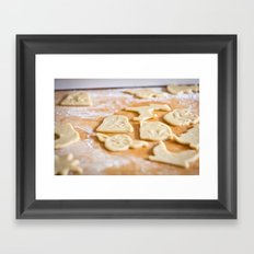 Cookies, Ready for the Oven Framed Art Print