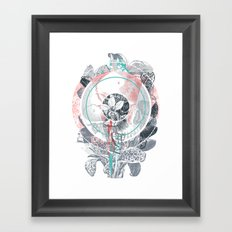 /blo͞om/ Framed Art Print