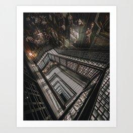 A&F Staircase Art Print