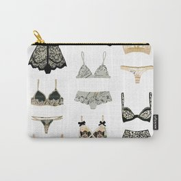 Lingerie Collage Carry-All Pouch
