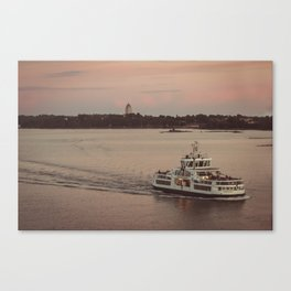 Postcard from the Baltic Canvas Print