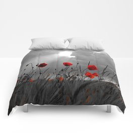 Only poppies... Comforters
