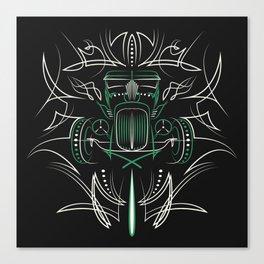 Hot Rod Pinstriping Canvas Print