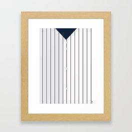 Baseball - NY Yankees Framed Art Print