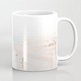 At the Beach (five) Coffee Mug