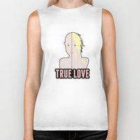 britney spears Biker Tanks featuring Britney Spears: True Love by Christopher Holden Mathews