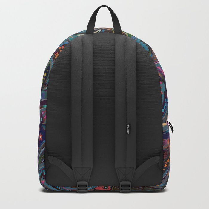 Magic Paisley Pattern Backpack