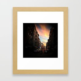 NYC Chinatown Framed Art Print
