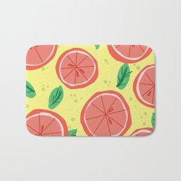 Grapefruit Summer Bath Mat