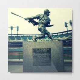 Swing for the Fences! Metal Print