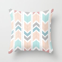 Sunrise Arrows Throw Pillow