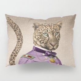 Grand Viceroy Leopold Leopard Pillow Sham