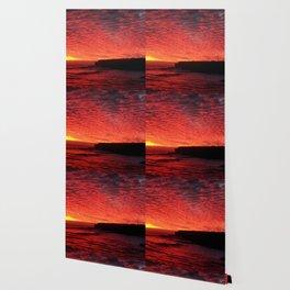 Santa Cruz on fire Wallpaper