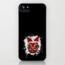 Mononoke fanart iPhone Case