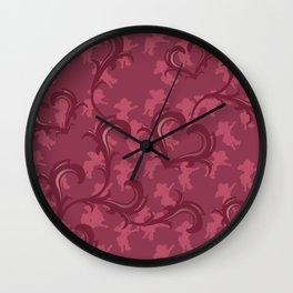 Angeli Rosso Wall Clock