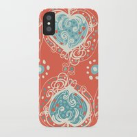 nordic iPhone & iPod Cases featuring Nordic Heart by Sarah Doherty