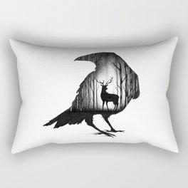 THE RAVEN AND THE DEER Rectangular Pillow