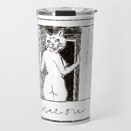 Madonna Cat #1 Travel Mug