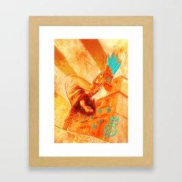 Skate girl Framed Art Print