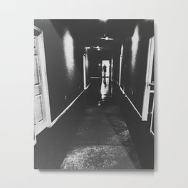 Hall of Doors Metal Print