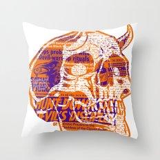 Satanic Panic Throw Pillow