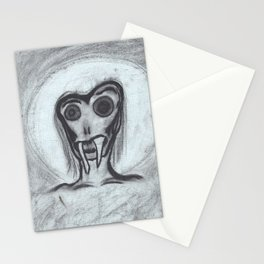angel of grief Stationery Cards