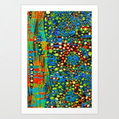 Abstract Pattern 15/2 Art Print