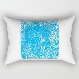 Abstract Buford Charging Rectangular Pillow