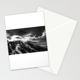 Arapaho Basin Light Monochrome Stationery Cards