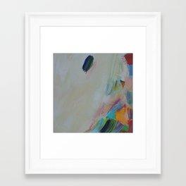 A Beach of a Day Framed Art Print