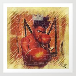 Jean-Michel Basquiat - Radiant Child Art Print