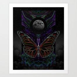 aftereffect Art Print