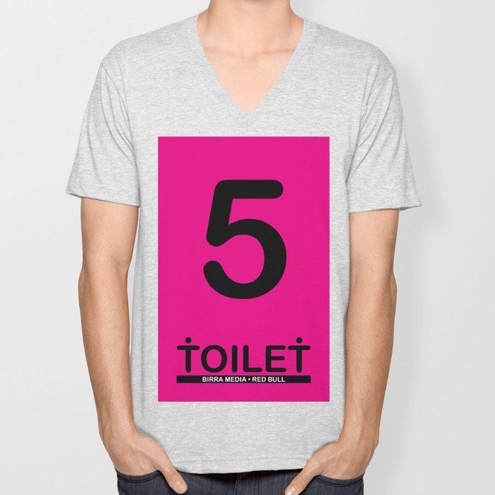 TOILET CLUB #5 Unisex V-Neck