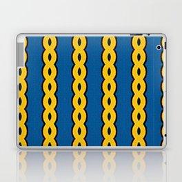 Gold Chain Curtain Laptop & iPad Skin