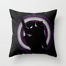 SuperHeroes Shadows : Hawkeye Throw Pillow