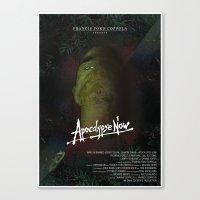 apocalypse now Canvas Prints featuring Apocalypse Now by FSDisseny